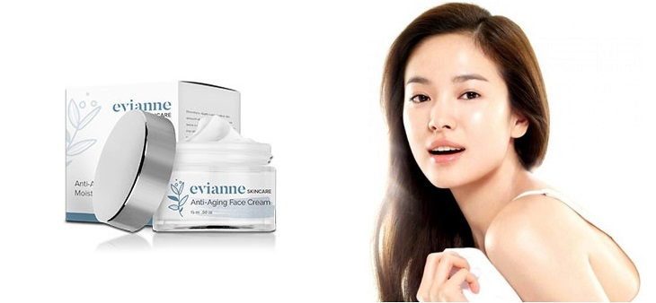 Atteindre une peau jeune avec une crème Evianne Skincare